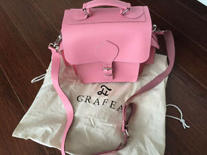 GRAFEA LEATHER CAMERA BAG(PINK) Kitchener / Waterloo Kitchener Area image 3