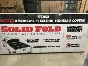 "RAMBOX EXTANG TONNEAU COVER 6'5"" WITH RAMBOX"