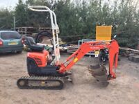 Mini digger hire, Wythall, Shirley, Solihull, Kings Heath, Kings norton, Birmingham