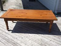 Solid Pine Coffee and End Table