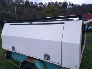 Steel canopy New Norfolk Derwent Valley Preview
