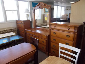 New dressers. Large selection. $249. and up.
