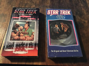 """Star trek """"the trouble with tribbles"""" & """"the devil in the dark"""""""