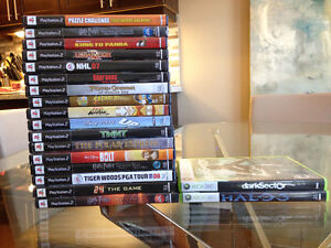 Playstation 2 and Xbox 360 Games For Sale