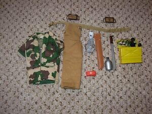Hasbro 1973 GI Joe Jungle Survival Set