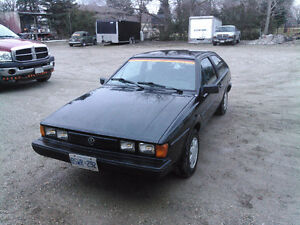1986 VW Scirocco