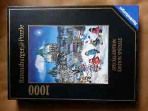 Ravensburger 1000 piece puzzle winter magic