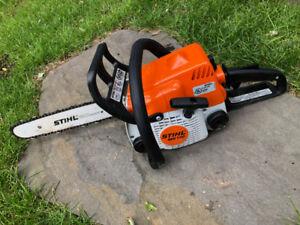 Stihl MS 170 chainsaw - scie a chaine