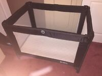 Red Kite Travel Cot with Mattress