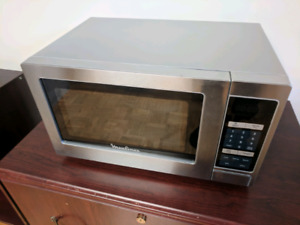 Microwave - Moulinex stainless steel