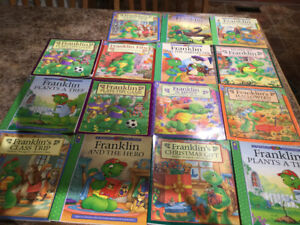 15 FRANKLIN books for only $20.00