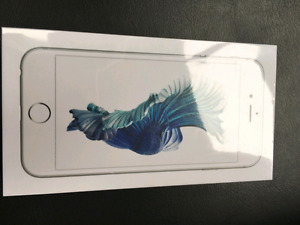 New sealed iphone 6s 32gb Silver/white + 1 year warranty !
