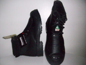 NEW SAFETY WORK BOOTS CERTiFiED  STEEL-TOE Sz 13,14 & 15