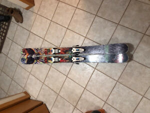 Freeride NAS Recurve Skis 2012 (168mm) with Bindings and boots