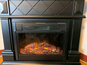 Perfect condition electric fireplace