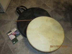 """Brand New Bohdran 18"""" Drum with extras"""
