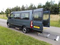 2014 14 Renault Master 2.3 DCi *ONLY 20K* Wheelchair Disabled Accessible Vehicle