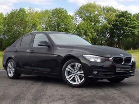 BMW 3 SERIES 2.0 320i Sport Auto 4dr (start/stop) (black) 2016