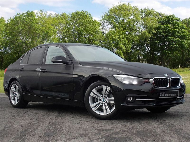 BMW 3 SERIES 2.0 320i Sport Auto 4dr (start/stop) (black) 2016