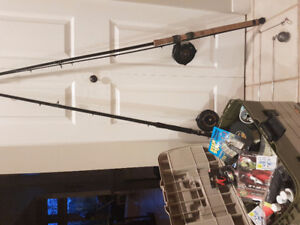 Ocean Fishing Package, including 2 rods/reels & full tackle box