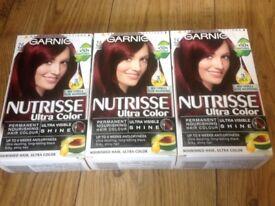 Hair dyes X 6