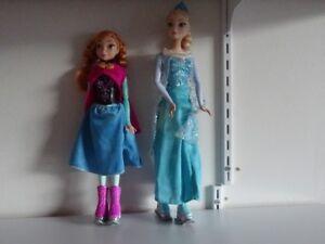 Poupée Princesse Disney Frozen Anna & Elsa Patins 2/18$