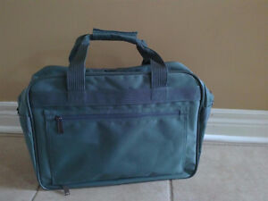 Brand new with tags green luggage bag cabin carry on bag London Ontario image 3