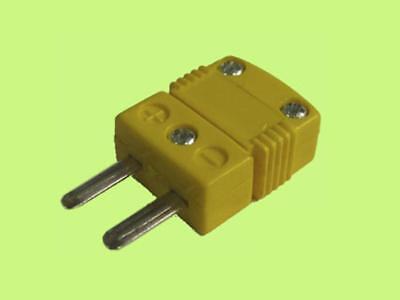 Standard K Type Thermocouple Mini Connector Male