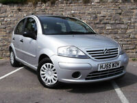 2005/55 CITROEN C3 1.4i Desire 5 DOOR HATCHBACK, LOW MILEAGE !