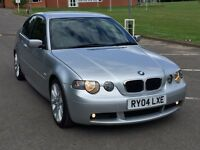 BMW 318 I COMPACT M SPORT - 2004 FACELIFT - SUPERB ENGINE AND GEARBOX AND BODYWORK - PX WELCOME