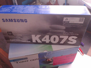 Cartouches de toner 407 pour imprimante Samsung, neuves dans l'e