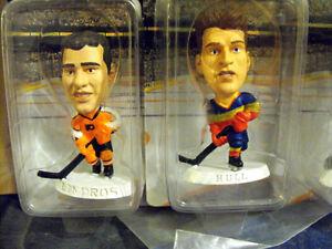 Vintage NHL Hockey Headliners ad #1