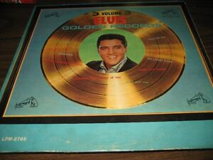Reduced price ELVIS LP VOLUME 3 GOLDEN RECORDS