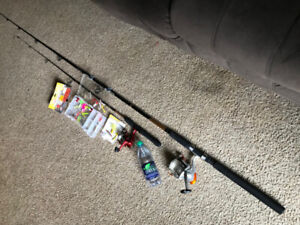 Fishing rod package
