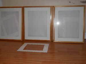 12 Wooden Picture Frames Ikea 17 x 21 with Mats
