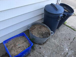 Need FREE sand for your little yard project?