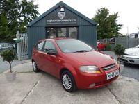 Chevrolet Kalos 1.2 SE (red) 2005