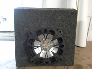 "Subwoofer Enclosure w/ 10"" Sub"