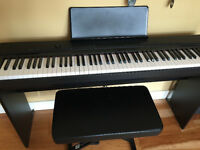 Casio Keyboard with stand and stool
