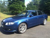 late 2007 Audi A4 s.line SE special edt