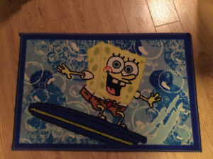Spongebob area carpet