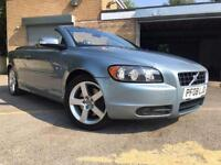 2008 08 VOLVO C70 CONVERTIBLE 2.4 SPORT 2D 170 BHP ONLY 62K 5 SERVICES