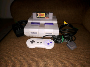 Super Nintendo Bundle (Zelda, Mario, etc)