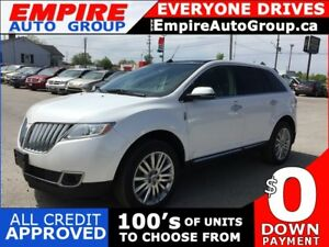 2014 LINCOLN MKX LUXURY * AWD * LEATHER * NAV * REAR CAM * PAN S