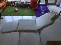 Adjustable table for massage , Treatment , Tatoo, Spa