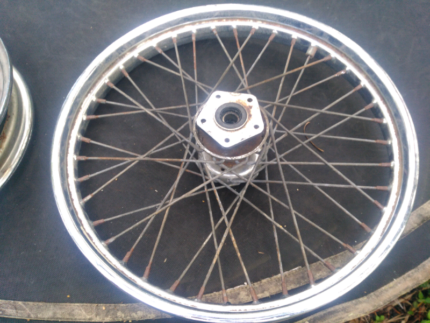"21"" harley wheel Mackay Mackay City Preview"