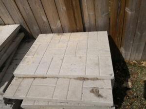 precast concrete cement paver slab step stone interlock tile