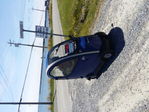 Allweather mobility scooter