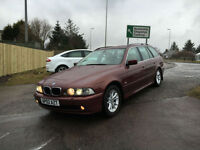 SOLD 2002 02 BMW 520i SE Touring , Spares or repair (good con,service history)