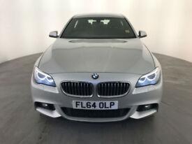 2014 64 BMW 520D M SPORT 4 DOOR SALOON 188 BHP 1 OWNER SERVICE HISTORY FINANCE